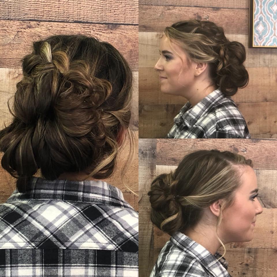 Senior Prom Hair