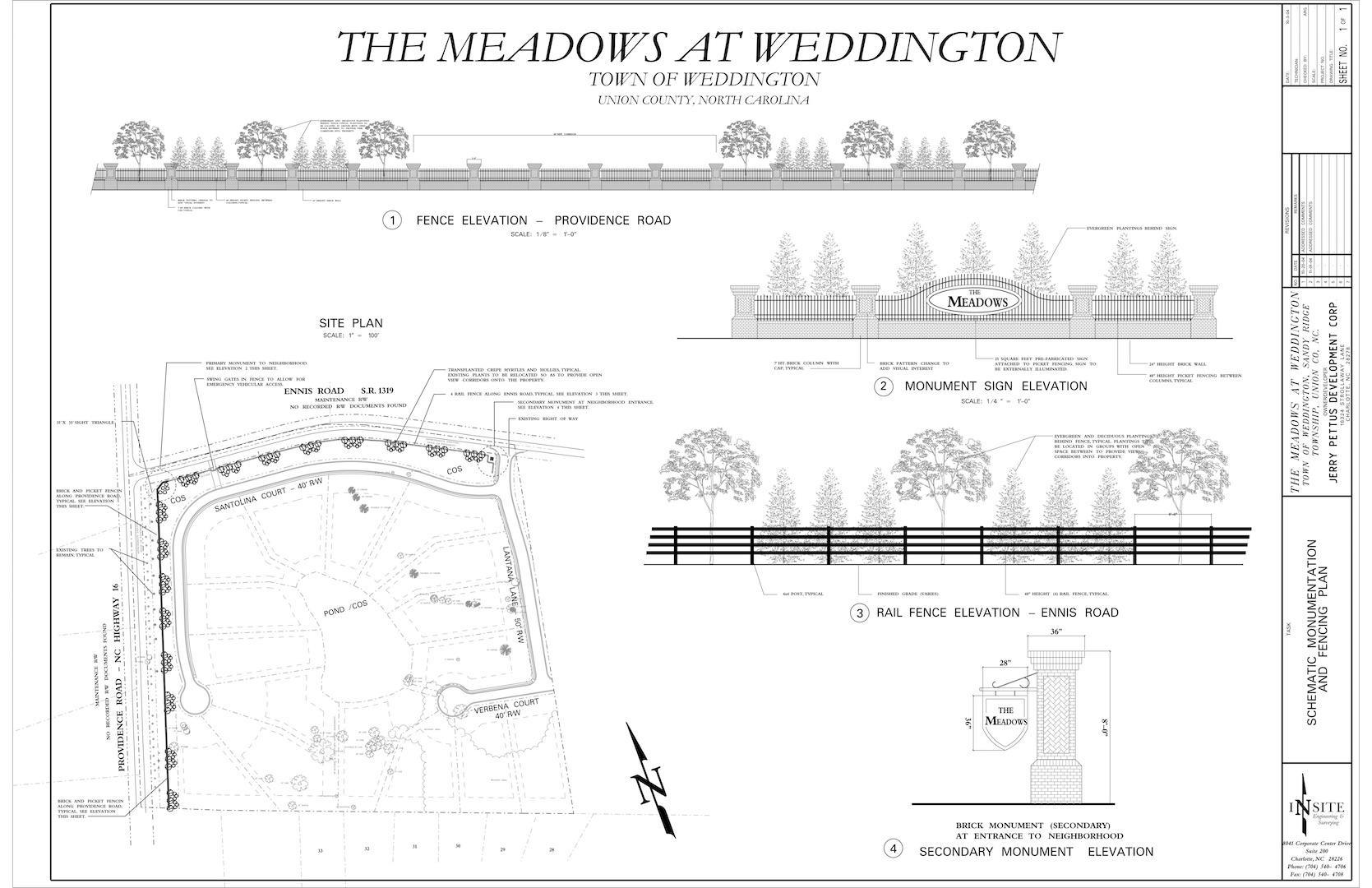 REAL - Meadows at Weddington Monumentation Plan2-7-05.jpg