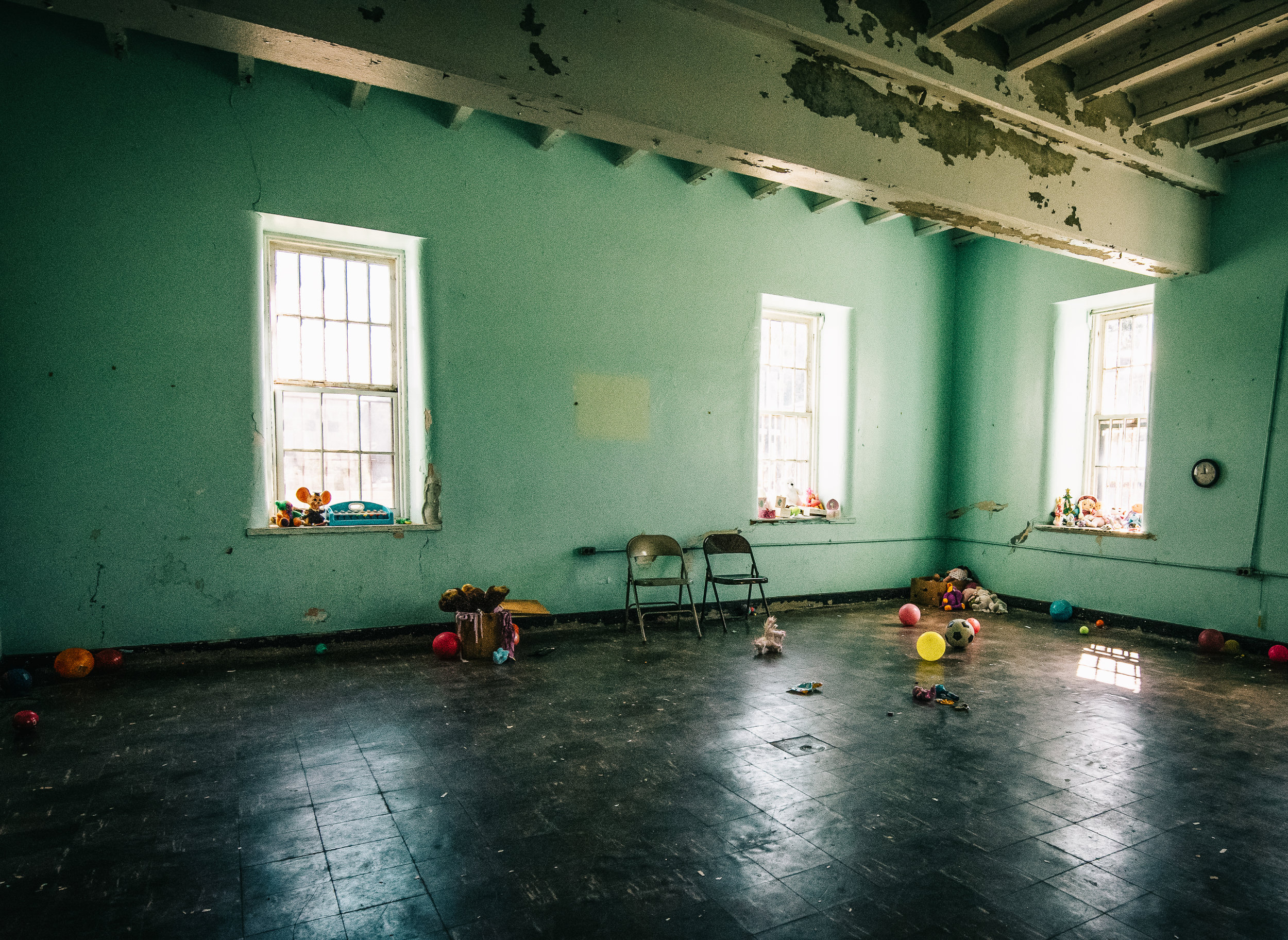 The children's ward is a common place for ghosthunters to congregate.