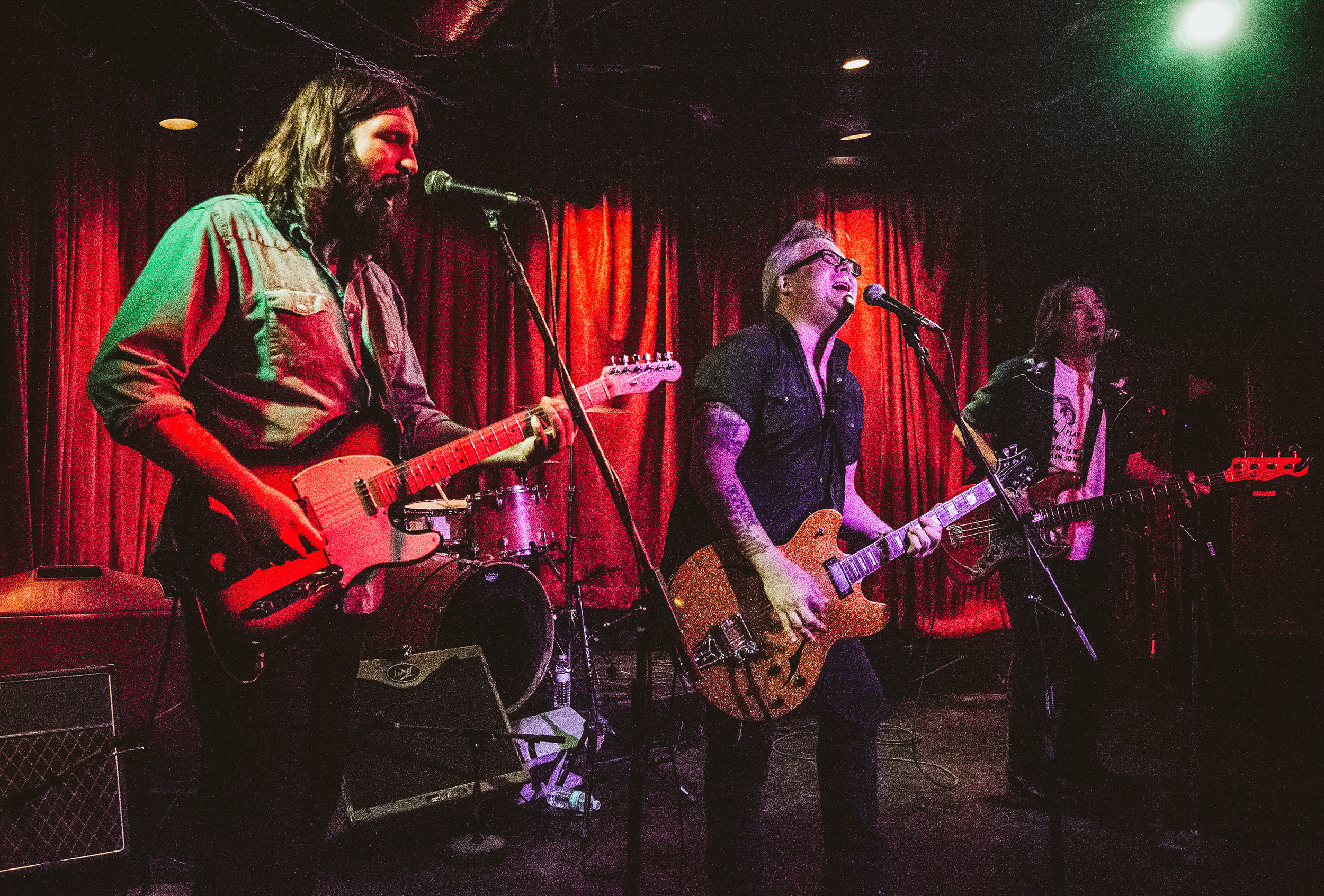 """Over at the 5 Spot, Heath Haynes & the Hi-Dollars were doing a """"teenage"""" theme night where every song had the word teenage in it! East Nash is the place to be."""
