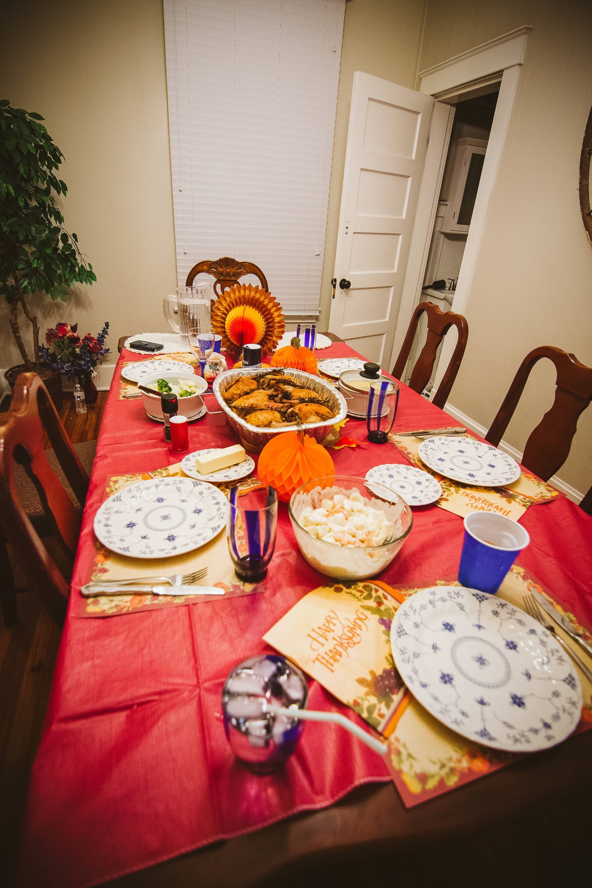 No girls holiday would be complete without a family-style meal. Lucky for us, we came prepared for Canadian Thanksgiving!