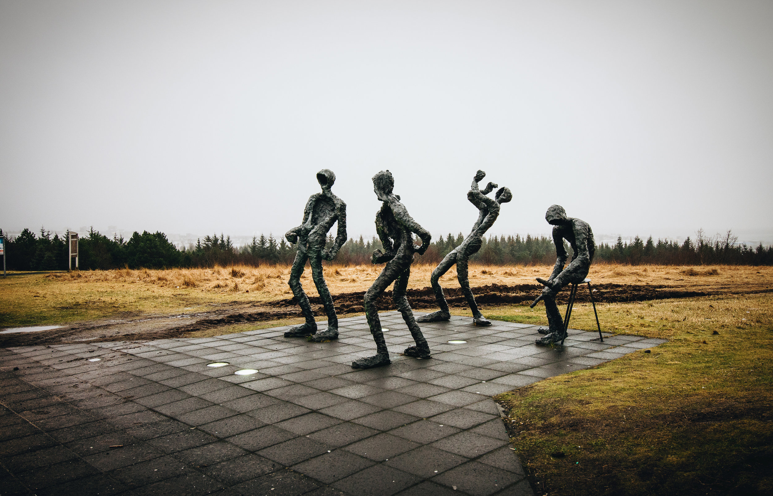 Nothing like sculpture art in the middle of nowhere.