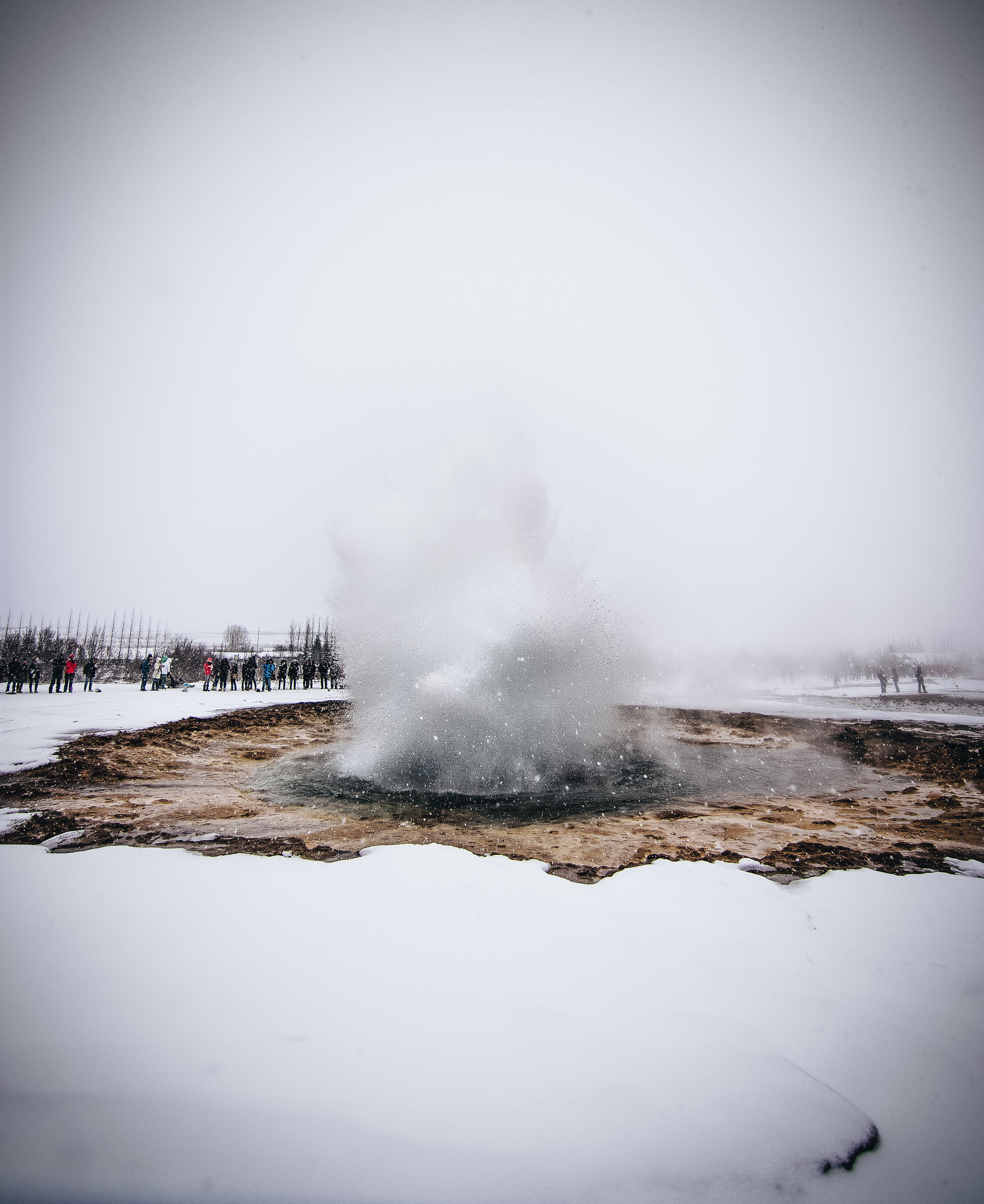 Yes. Nothing like getting soaked by a geyser in -30 degree temperatures.