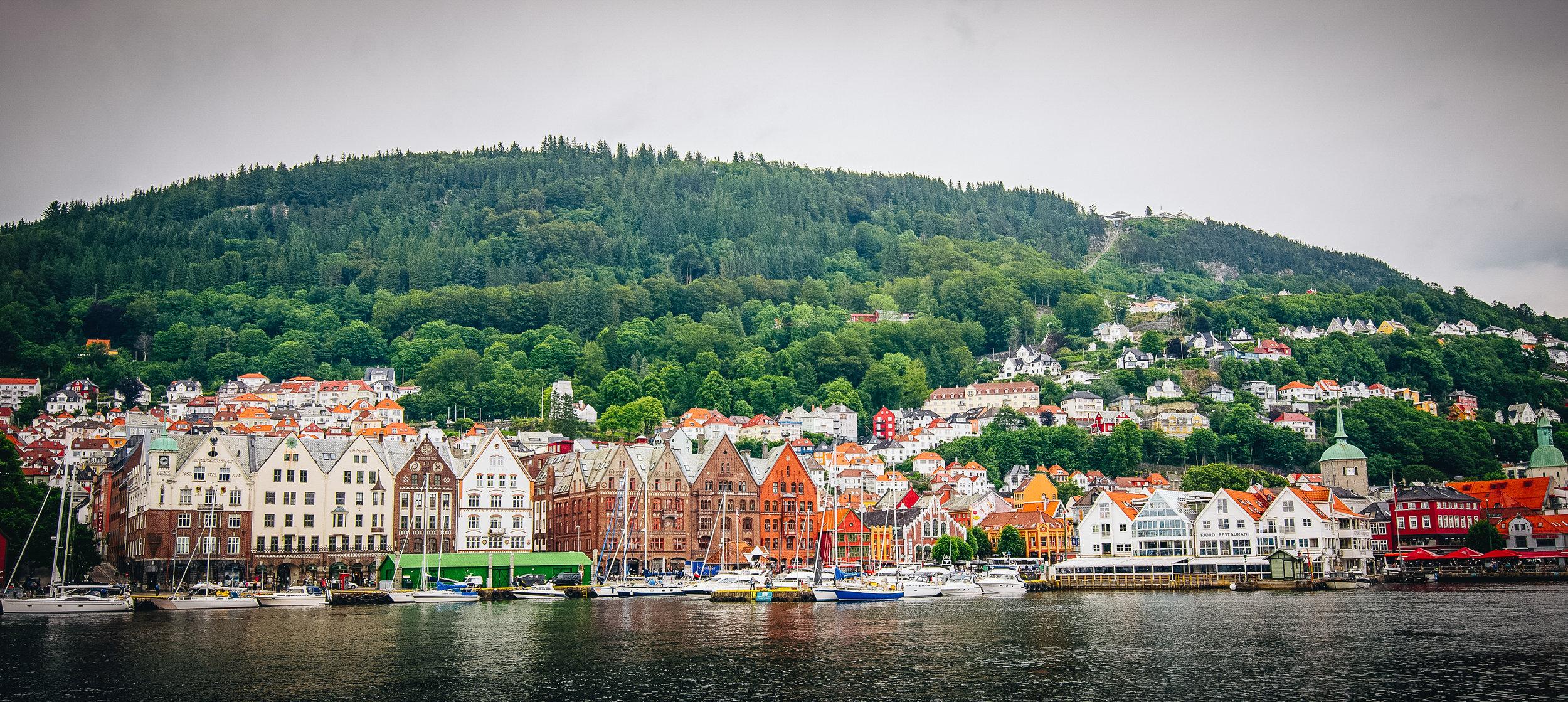 Bergen's seaside.
