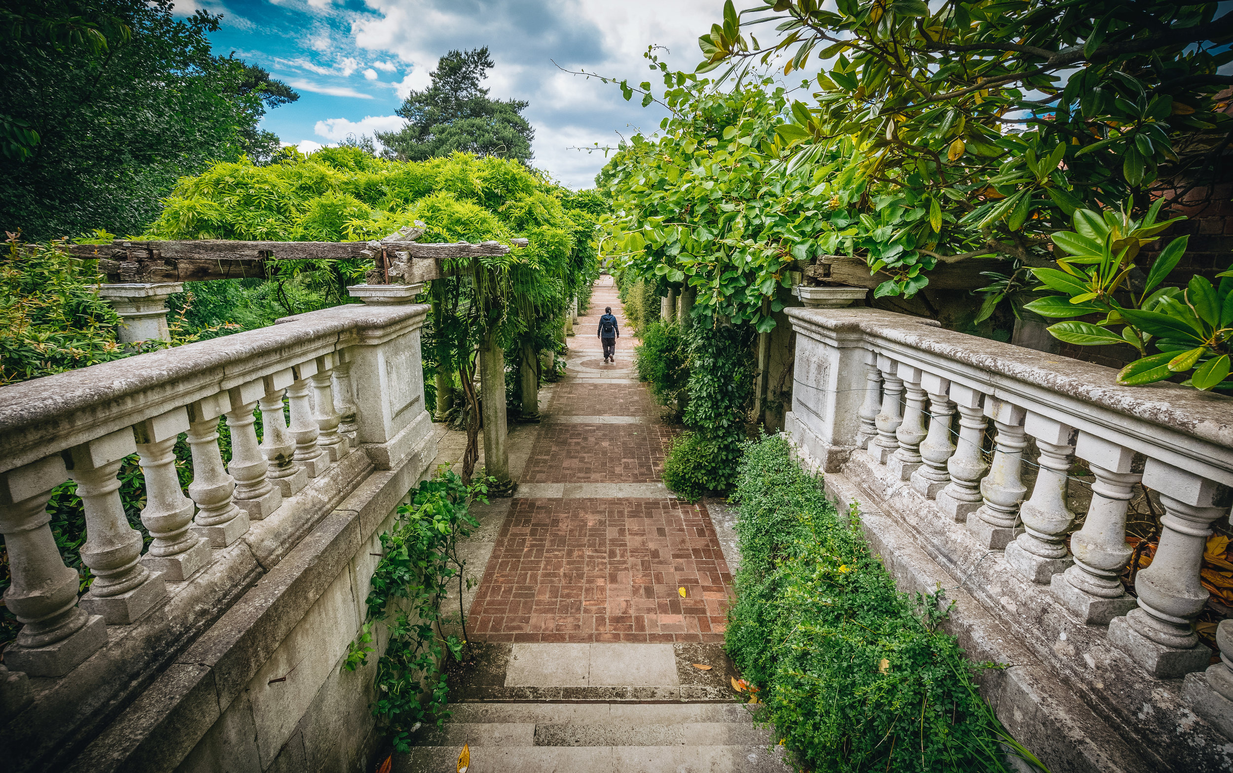 The Hill Garden is a photographer's dream for a reason.
