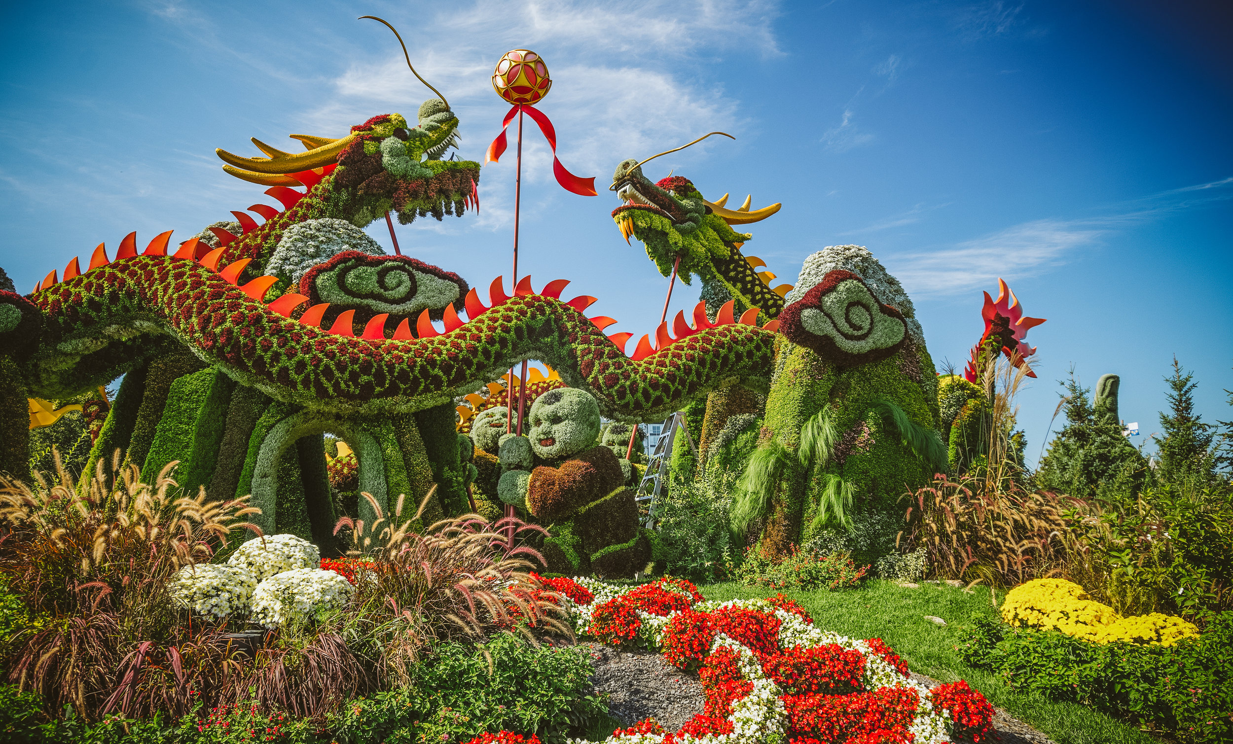 """""""Blessing of the Good Omen Dragons"""" (Beijing, China). This was basically a gift from China for Canada150. No other country contributed."""