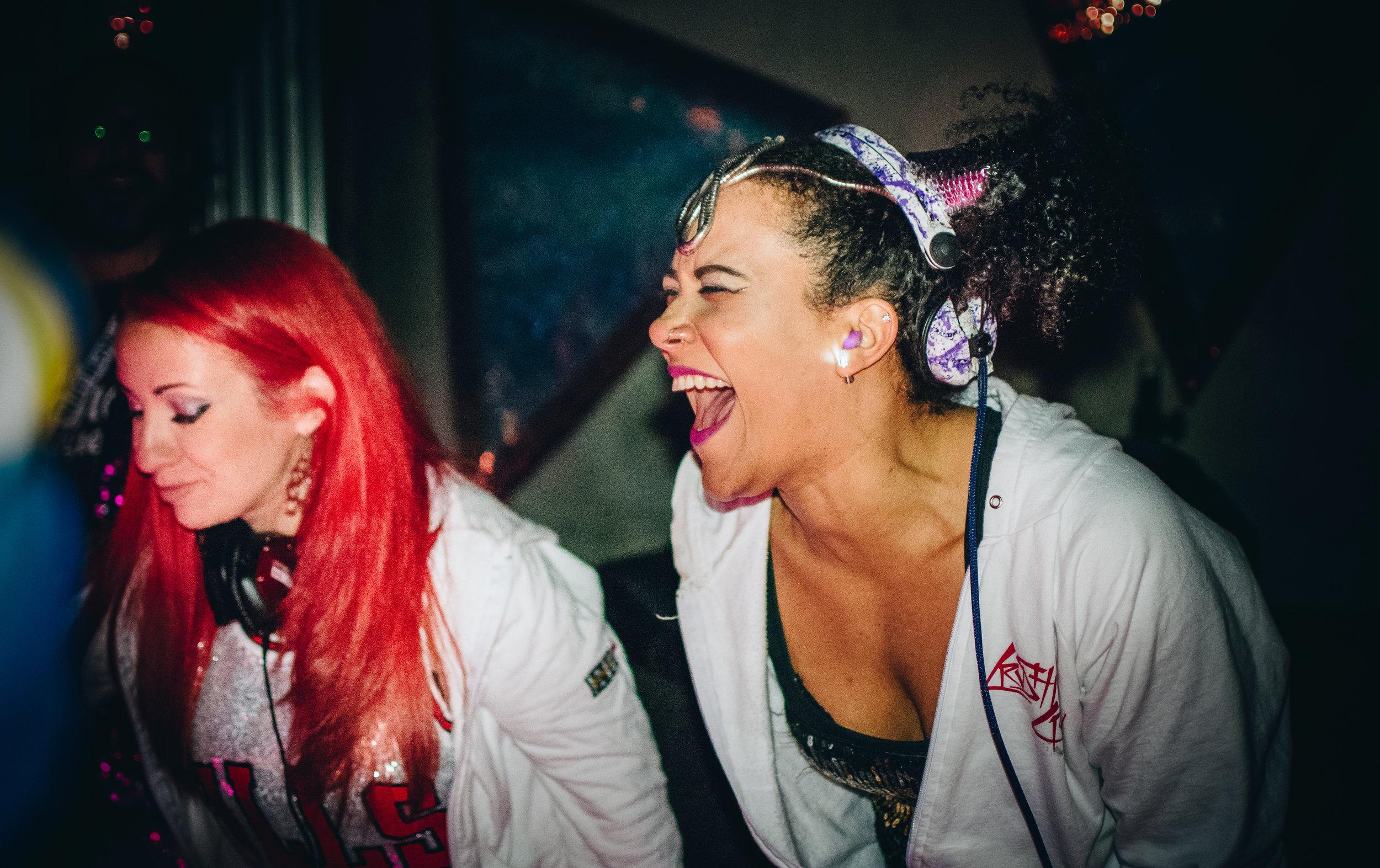 DJs Miz Megs & Ticky Ty