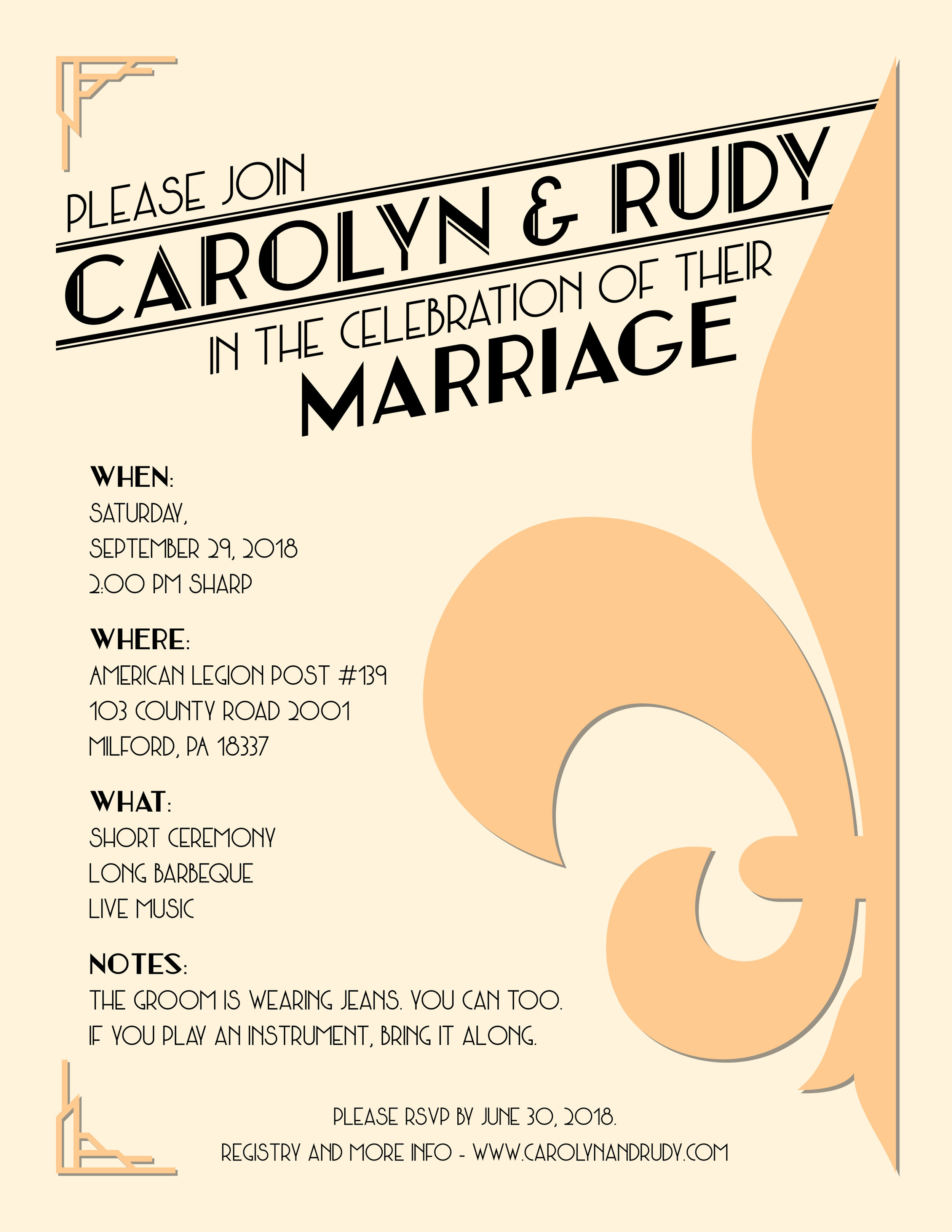 Wedding Invitation (My Own!)