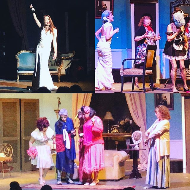 "Our closing weekend has begun tonight! ""Always a Bridesmaid"", a hilarious ride of love, friendship and marriage! 📸@eurydicesphotog  #alwaysabridesmaidneverabride #elpasotheatre"
