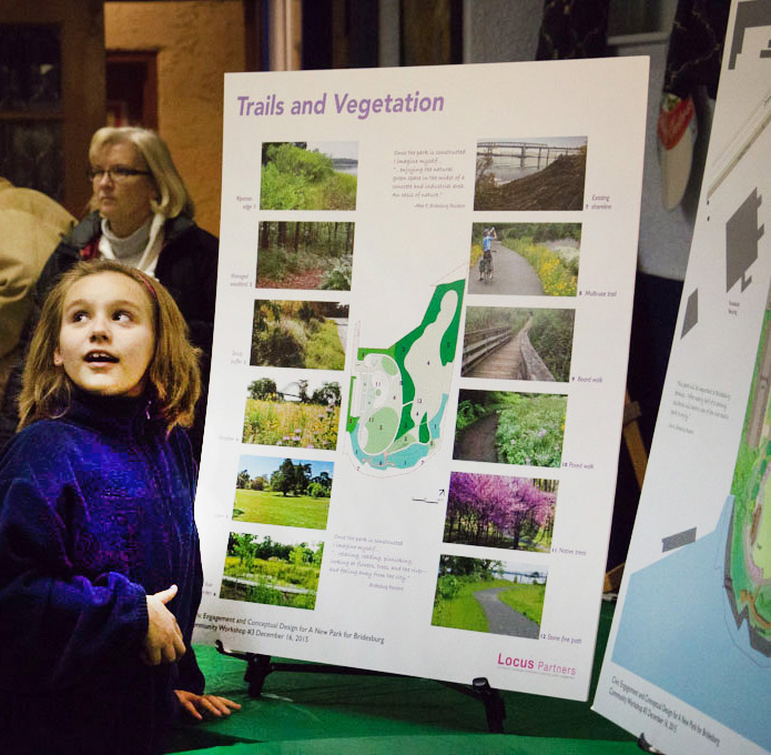 COMMUNITY MEETINGS FOR NEIGHBORHOOD PROJECTS CAN INSPIRE ALL AGES TO DREAM ABOUT THEIR FUTURE.