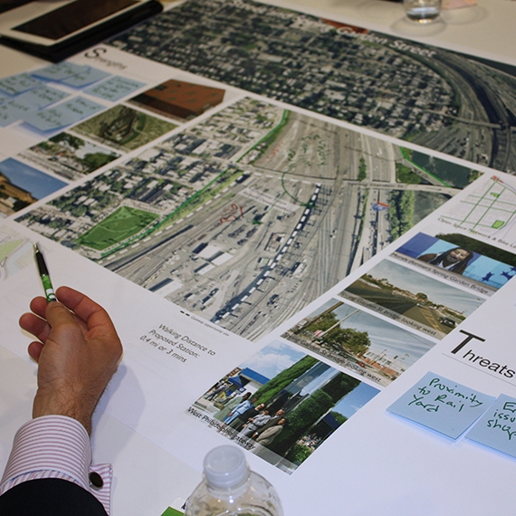 Centennial District Regional Rail Planning Charrette