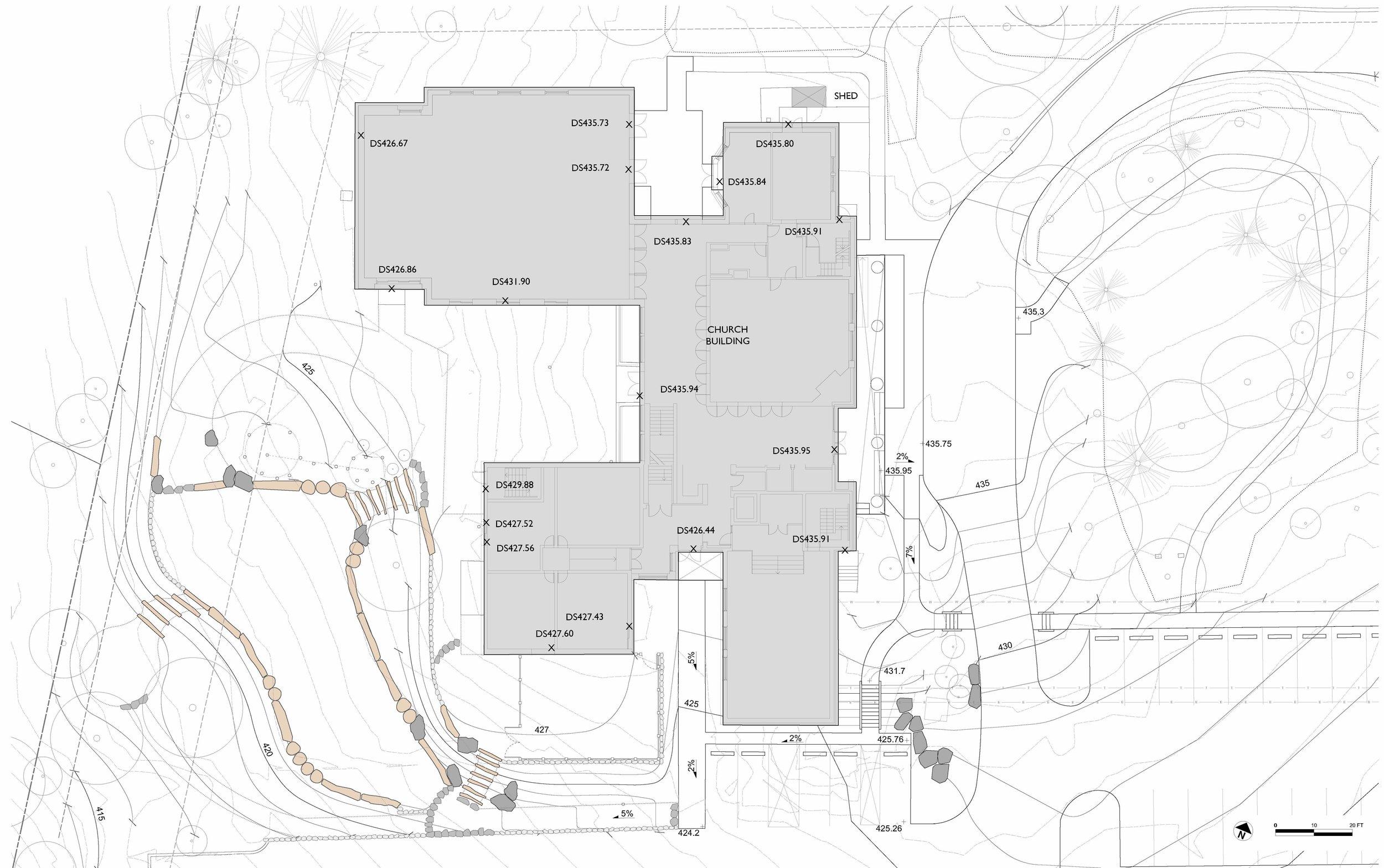 Grading & Drainage Plan - Enlarged.jpg