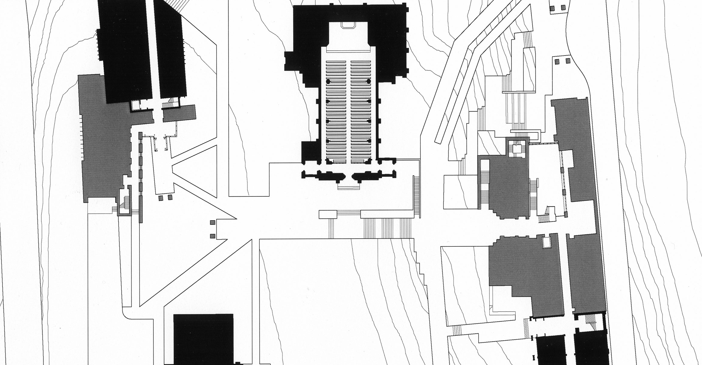 """Public space """"nolli"""" plan"""