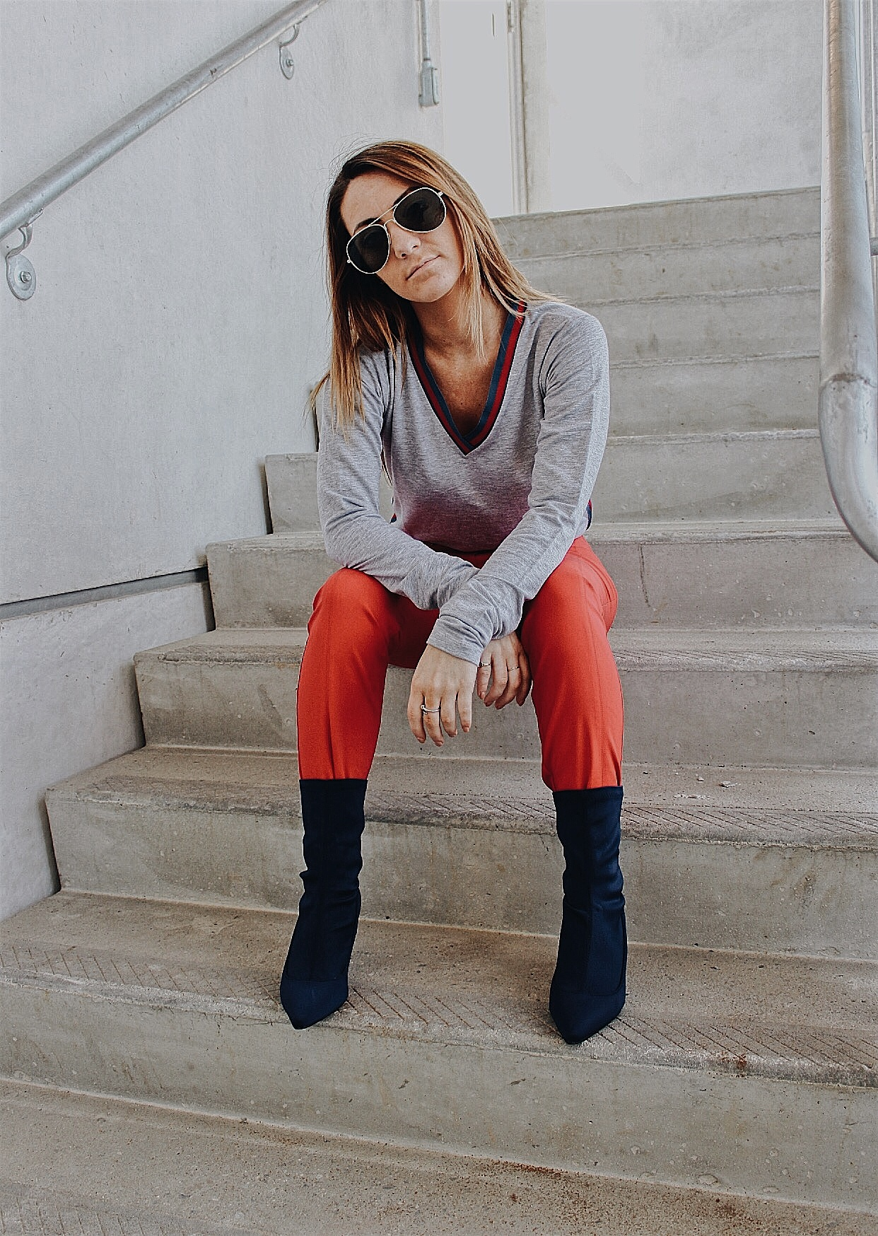 Red Alert  - The color red has dominated the fashion industry this fall!