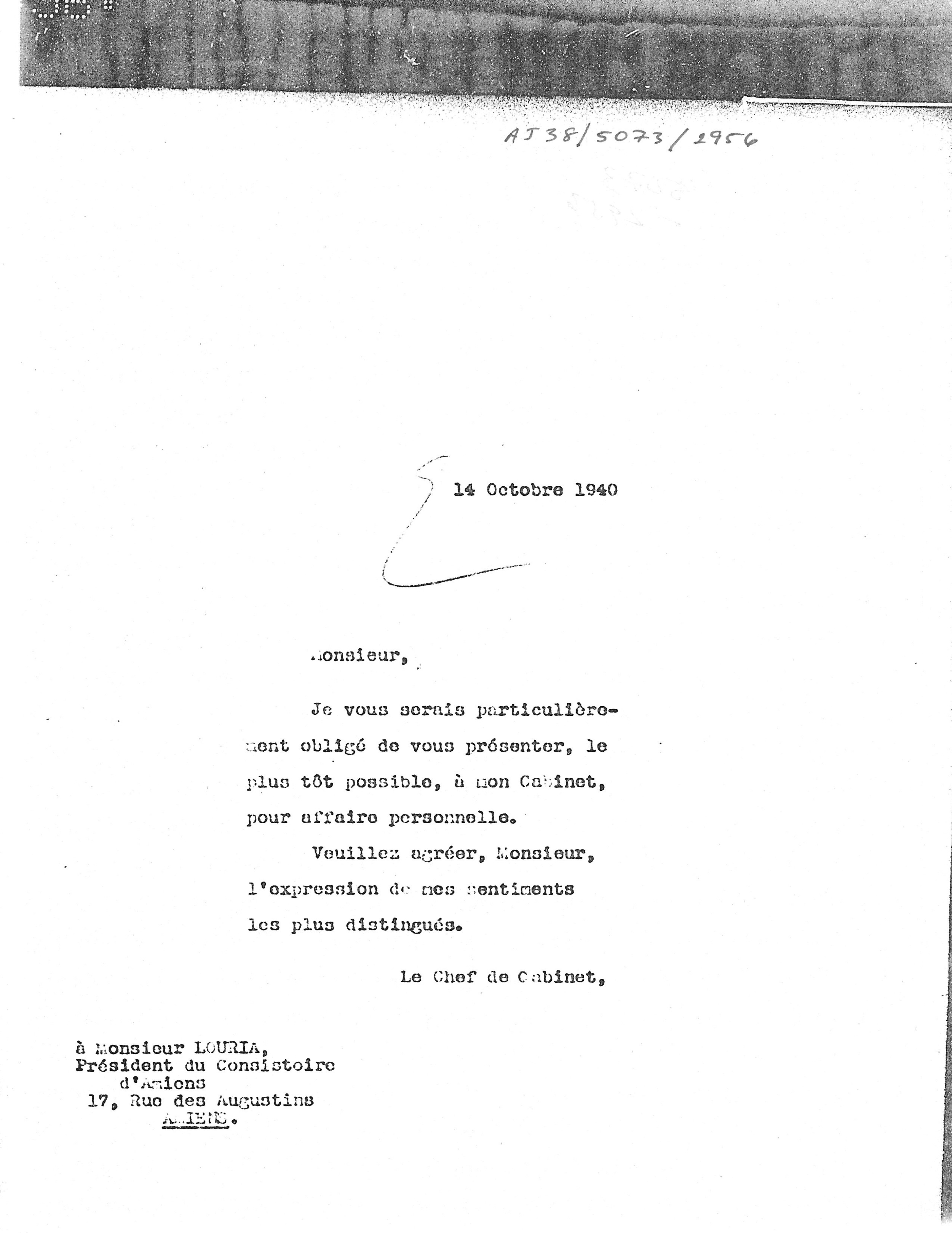 AJ38 5073 1956