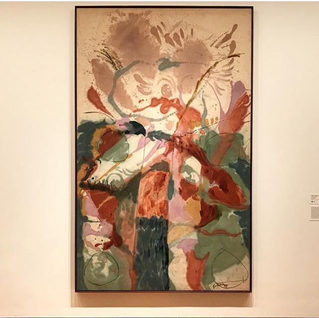 Jacob's Ladder, 1957. Helen Frankenthaler at MOMA