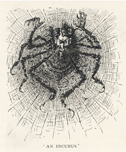 Illustrated depiction of  Svengali  by Georges du Maurier, 1890s
