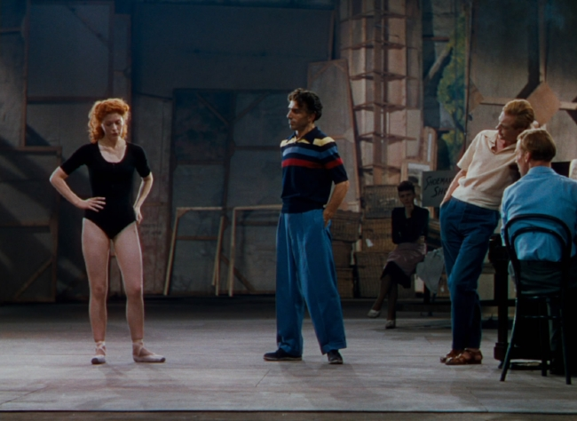 Moira Shearer with Leonide Massine in  The Red Shoes ( 1948)