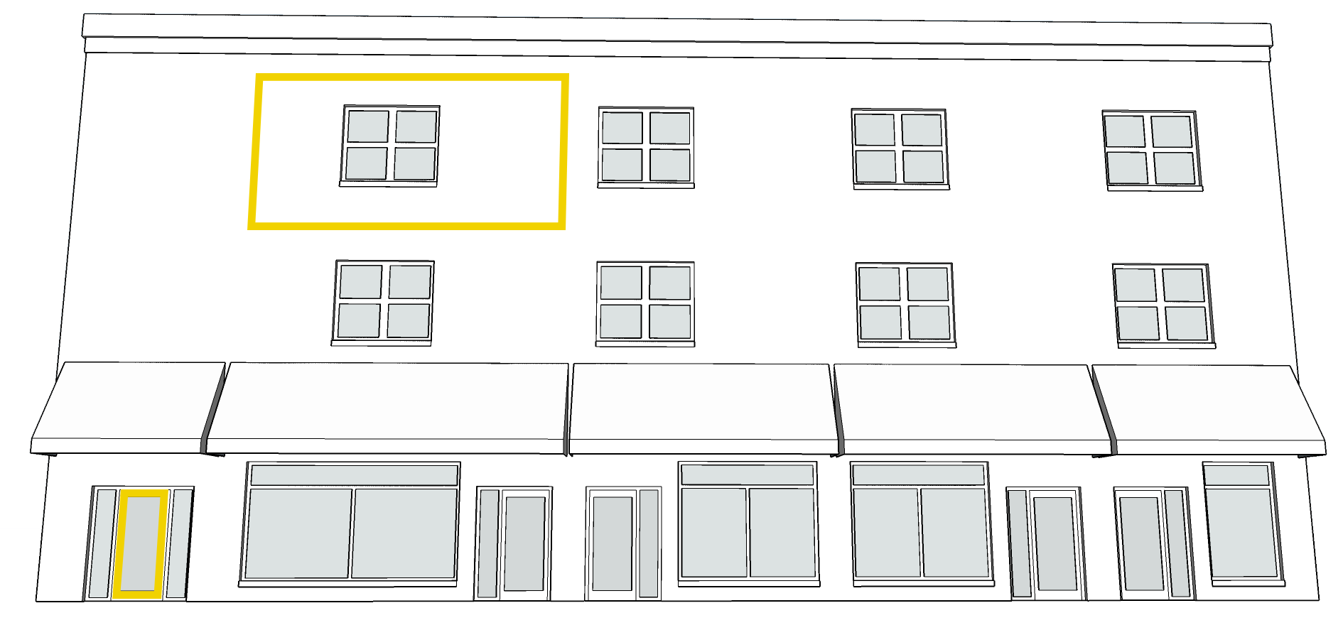 3rd FLOOR BUSINESS OR HIGHER.   Click on the image above.