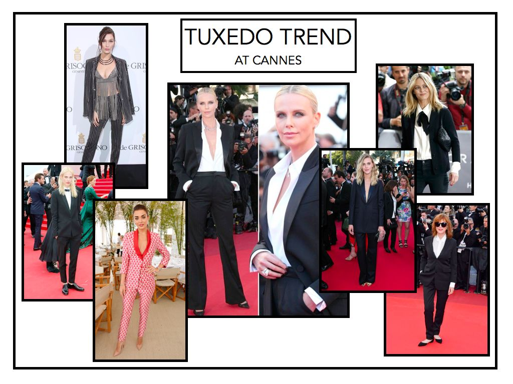 MODERN. CHIC. SEXY.  WE ARE LOVING THE GIRL-TUX!! THE ULTIMATE IN THE MASCULINE/FEMININE CONTRADICTION.THE KEY TO AN AMAZING LOOKING TUX IS FIT. A HANDMADE CUSTOM BESPOKE TUX WILL FIT YOU LIKE A GLOVE AND HIGHLIGHT YOUR BEST ASSETS. SO MANY OPTIONS, LOVE CLASSIC BLK ON BLK , NAVY W BLK AND OF COURSE WHITE!! WHITE IS TOTALLY MODERN AND CHIC!