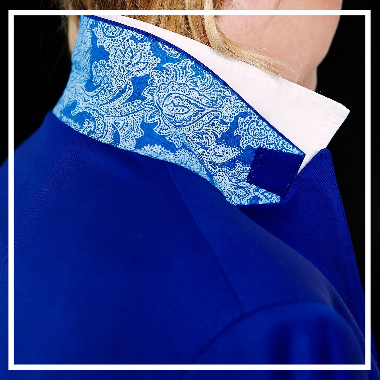 CONTRAST COLLAR DETAIL