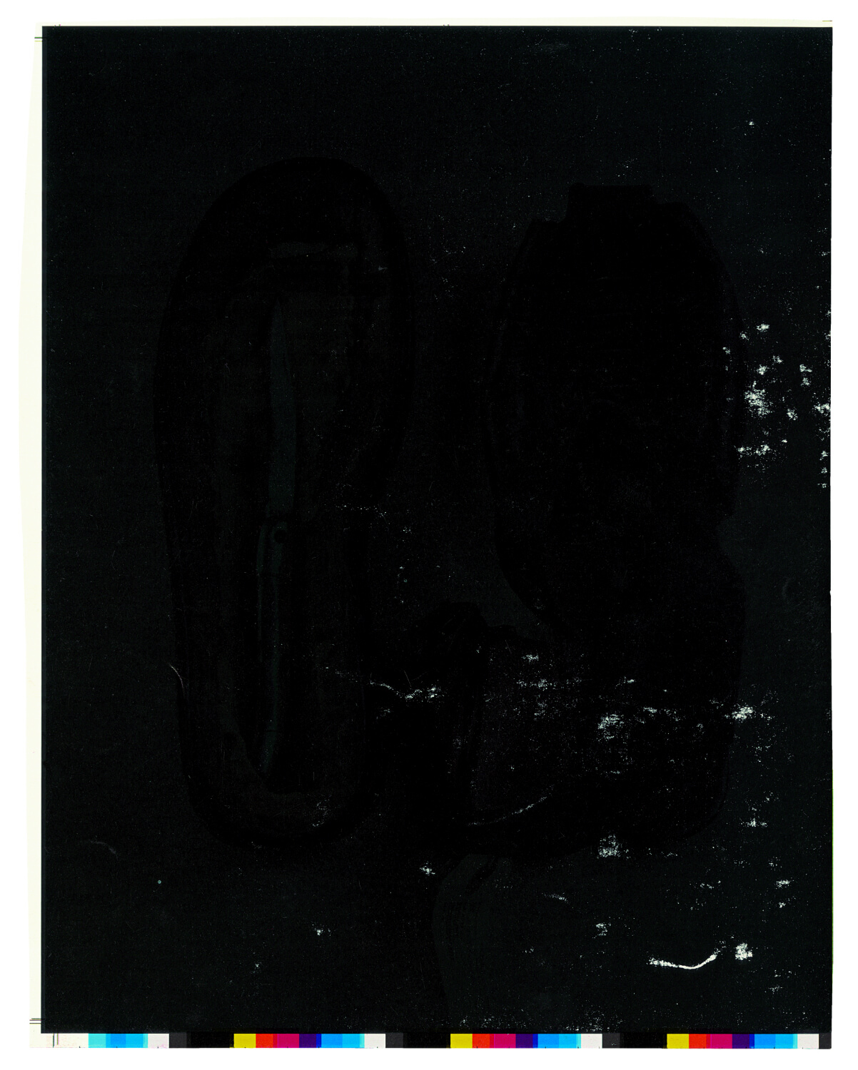 Scarti, Adam Broomberg & Oliver Chanarin, Trolley Books, 2013 (twice-printed lithographic paper, 8.5 x 24.5 cm, 2003)