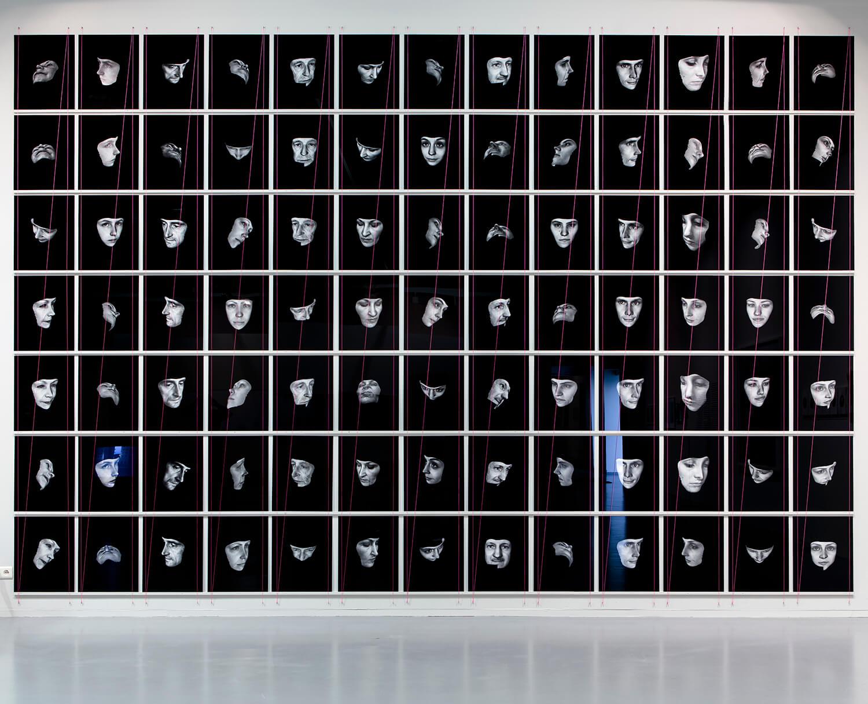 Everything Was Beautiful and Nothing Hurt, FoMu, Antwerp, 2014, Installation View 5 x 8 meters, © Lukas Verdijk & Vesna Faassen