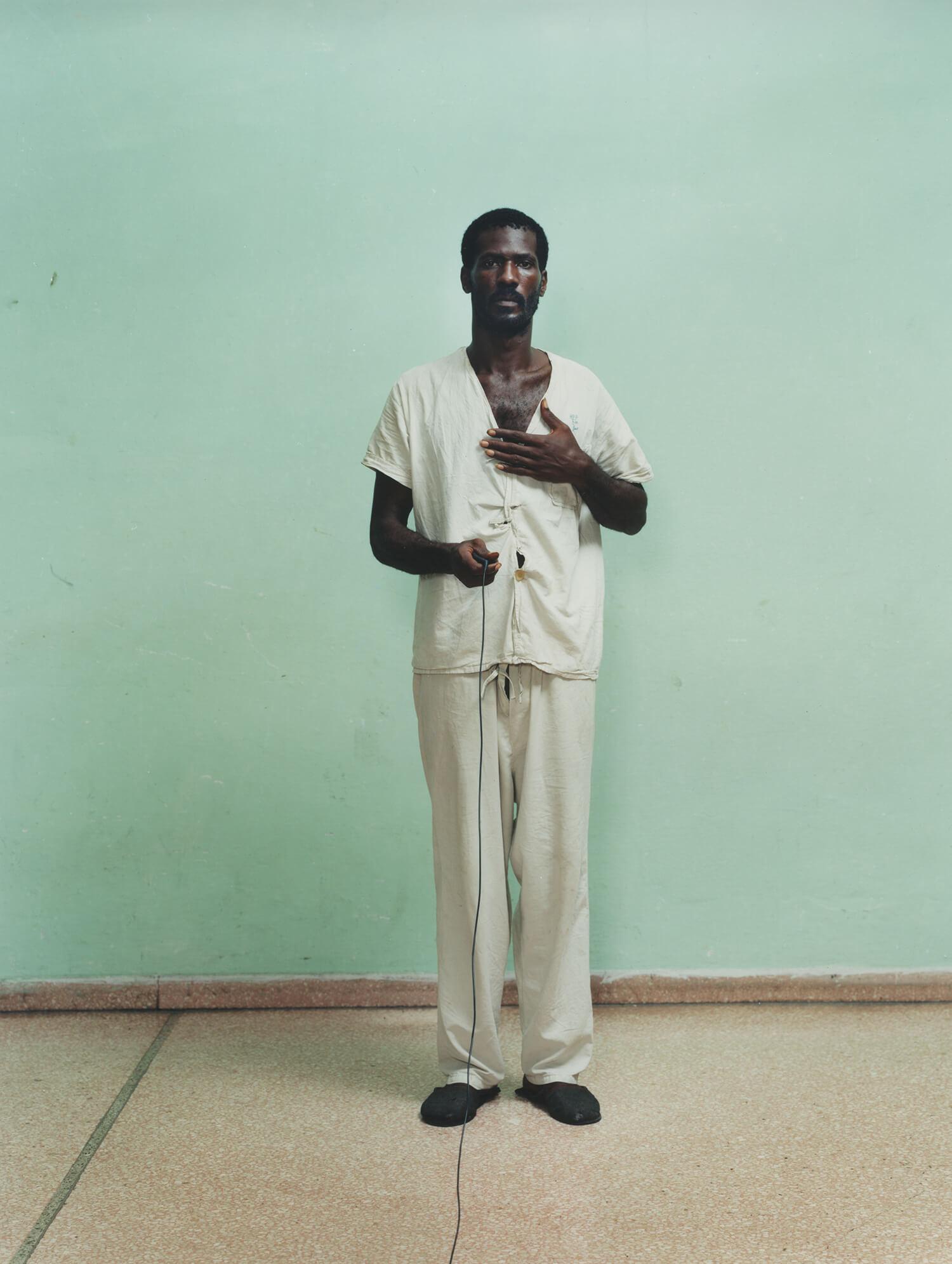 Rene Vallejo Psychiatric Hospital, Cuba, C-type print, 16 x 20 inches, 2003.