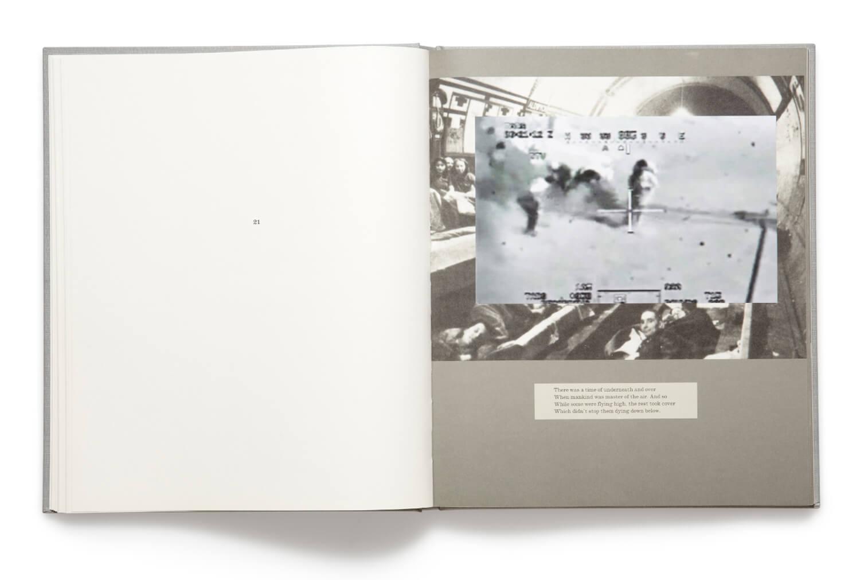 Plate 21, War Primer 2, Adam Broomberg & Oliver Chanarin, 2011, hardback book (MACK)