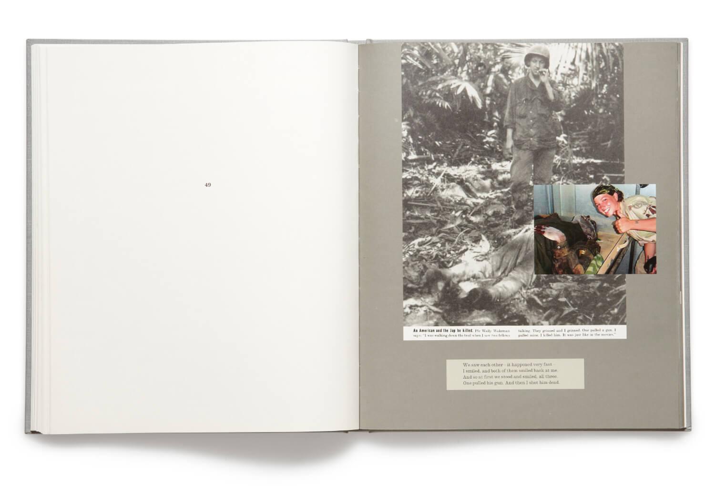 Plate 49, War Primer 2, Adam Broomberg & Oliver Chanarin, 2011, hardback book (MACK)