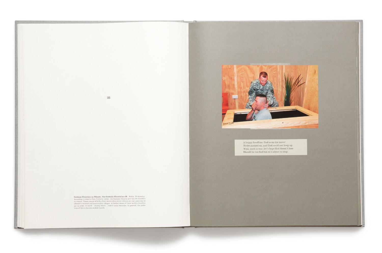 Plate 35, War Primer 2, Adam Broomberg & Oliver Chanarin, 2011, hardback book (MACK)