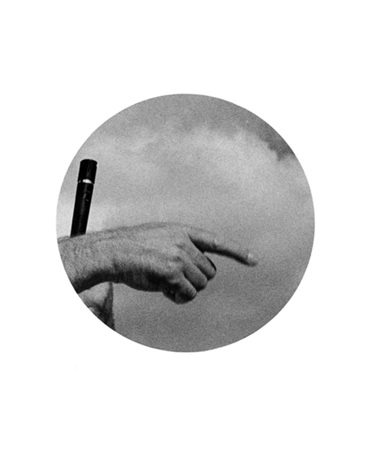 Untitled (Hand with microphone)