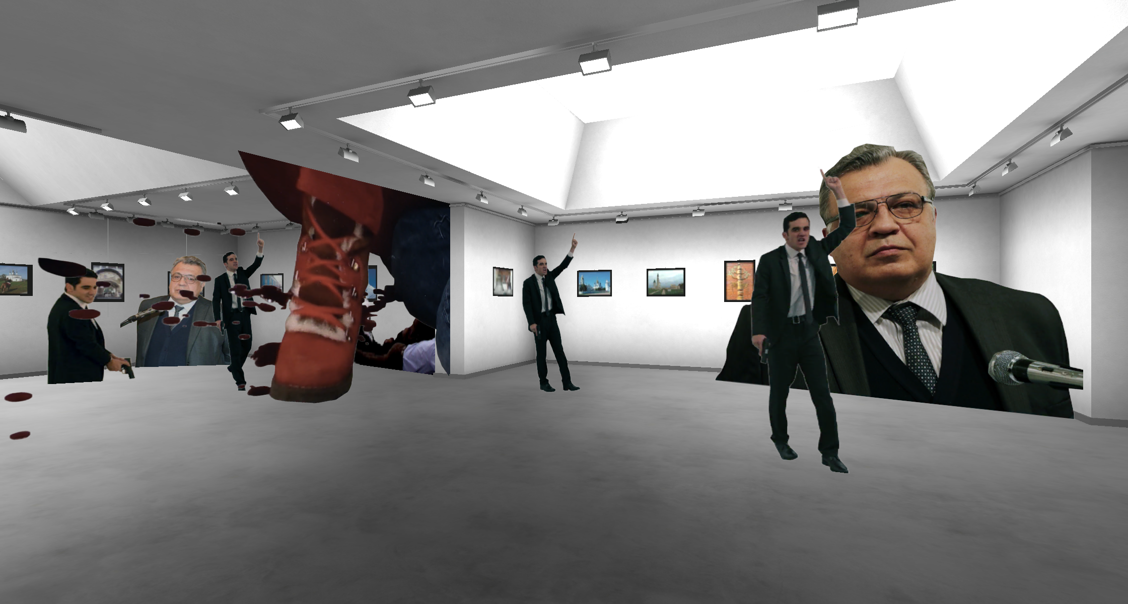 Woe From Wit, Broomberg & Chanarin, VR, 2019