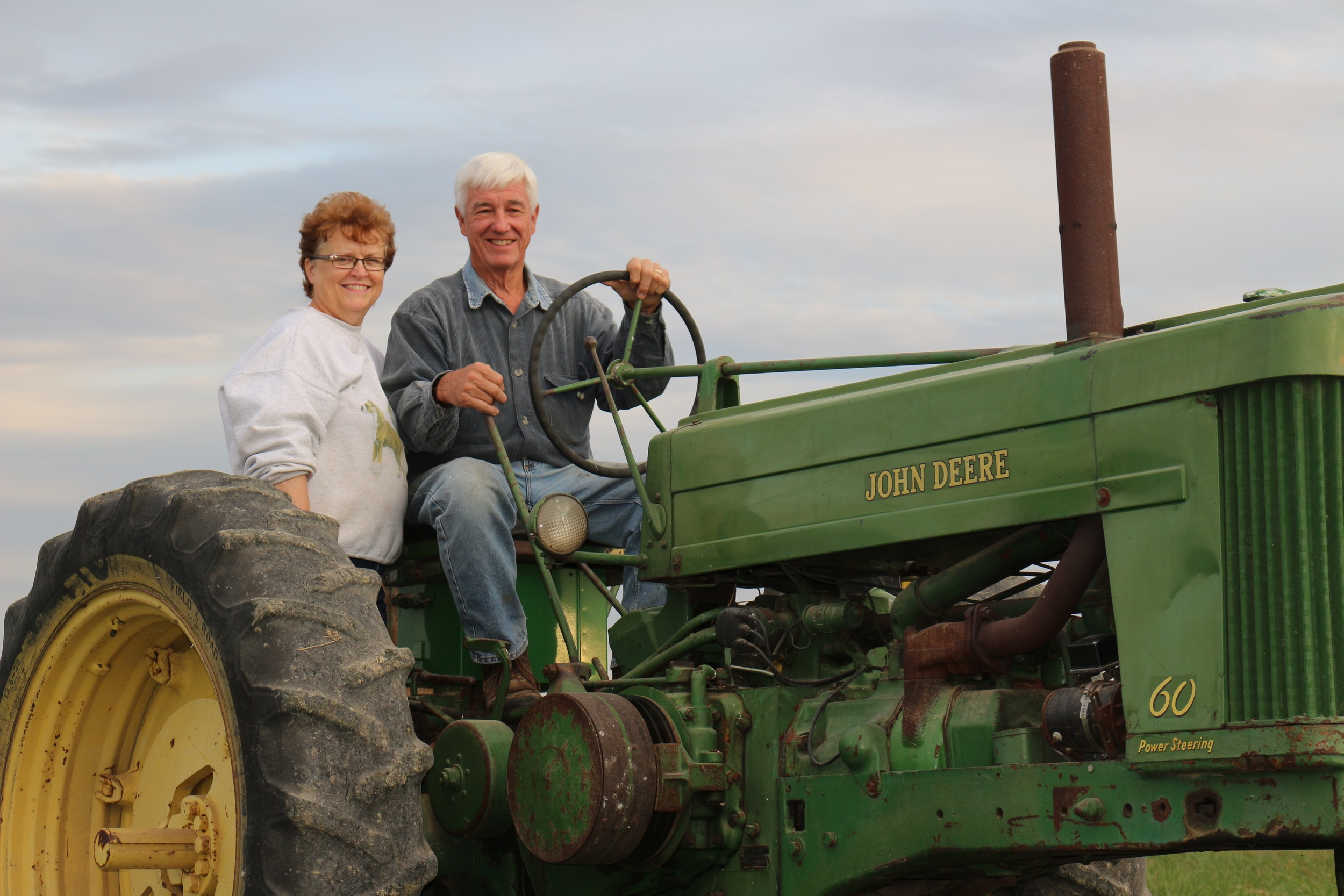 Stan Poe Sr. and wife Carol