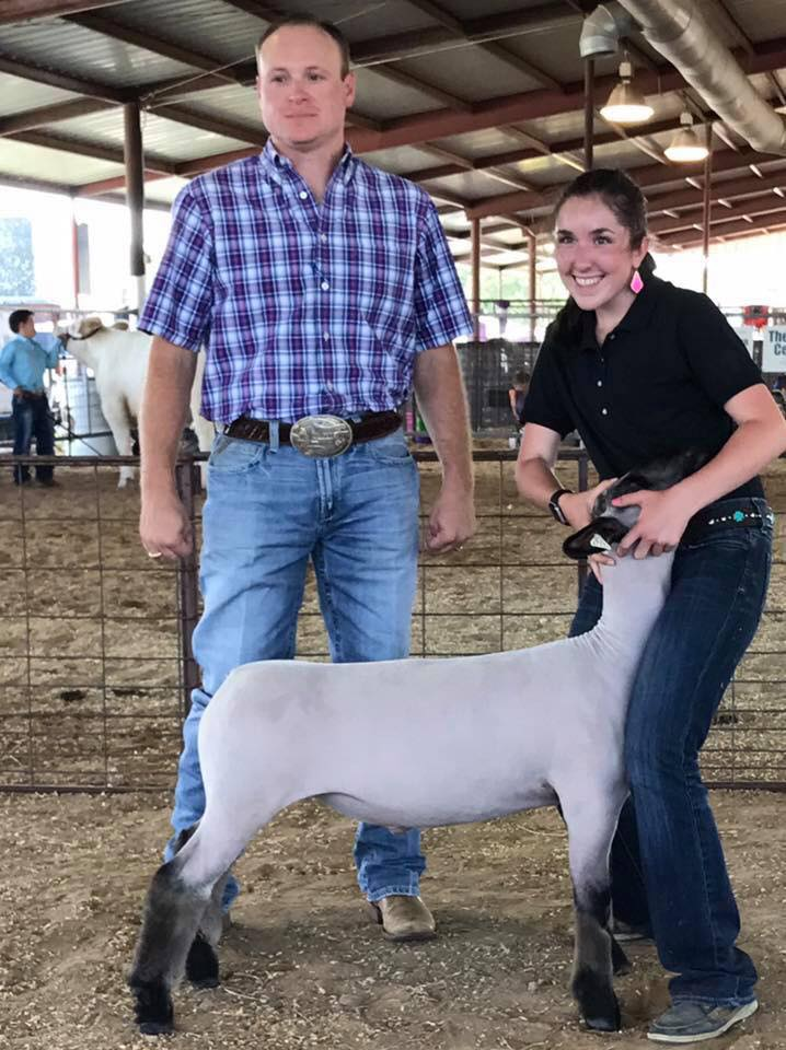 Abby Law - Grand Champion Lamb | Aledo Jackpot | TX