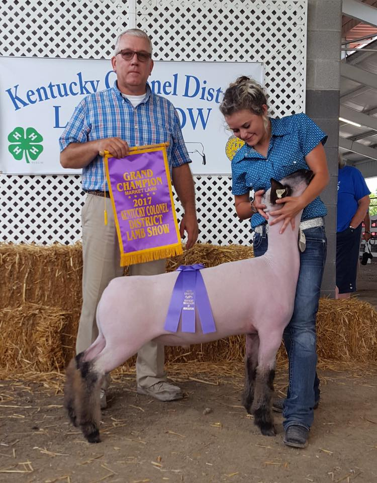 McKenzie Doyle - Grand Champion Lamb | KY Colonel | KY
