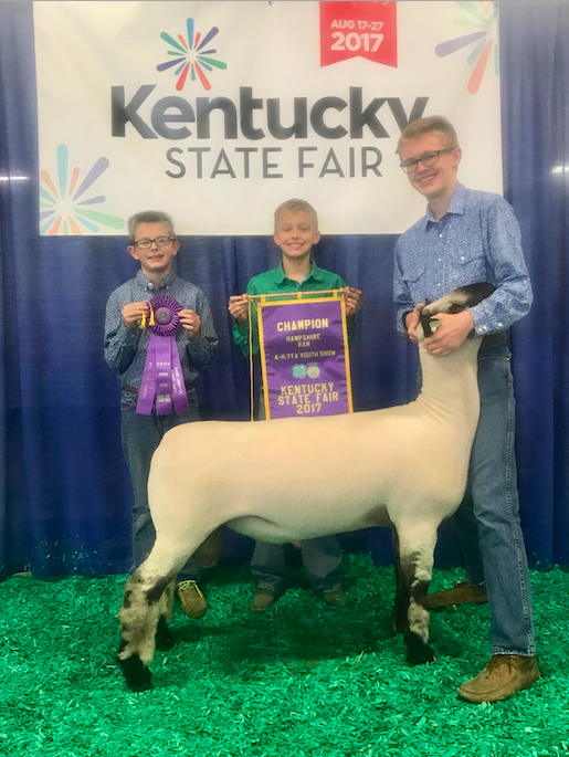 Campbell Coyle - Grand Champion Ram | Kentucky State Fair