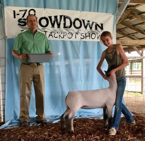 2nd Place - I-70 Showdown (IL) Shown by Karli Titus