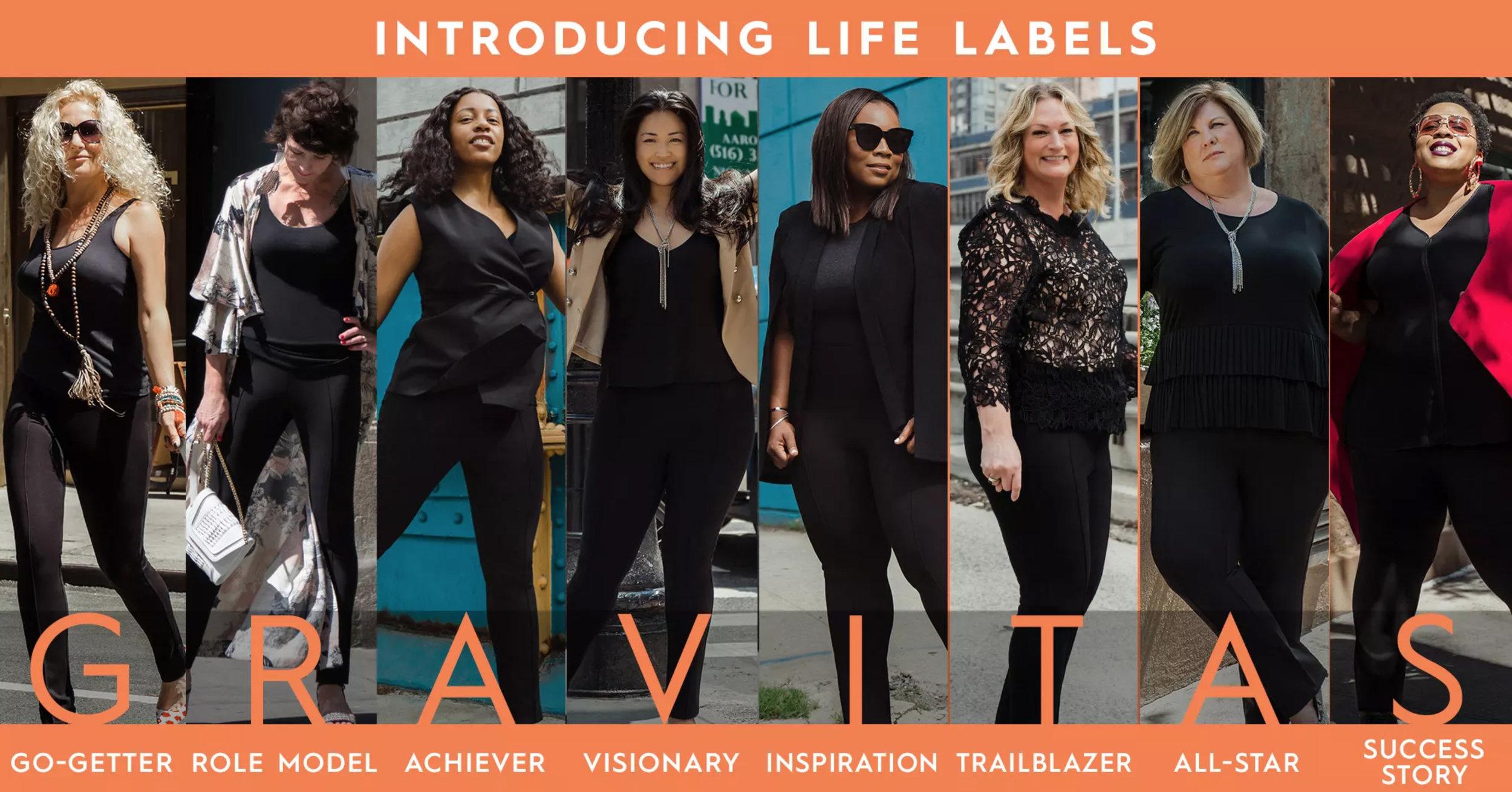 Gravitas Life Labels Campaign