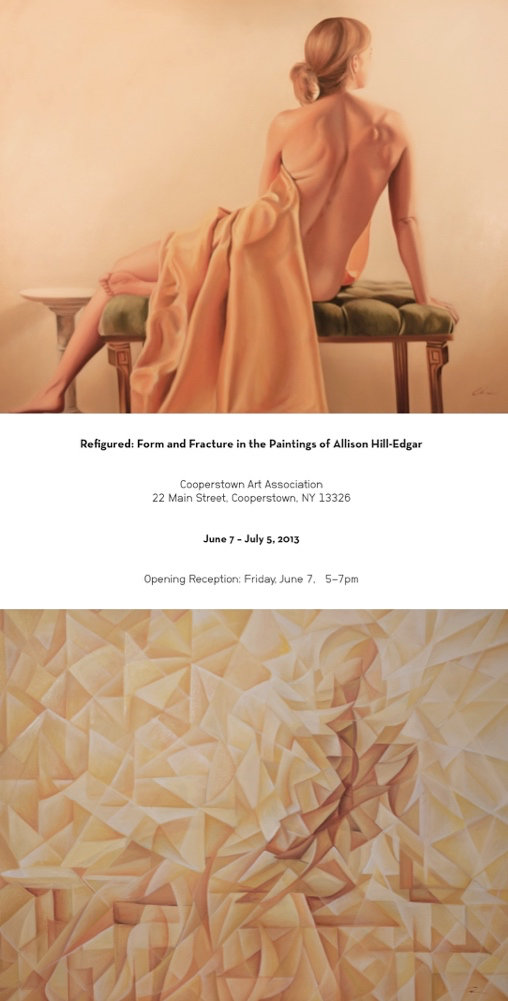 Refigured: Form and Fracture in the Paintings of Allison Hill-Edgar