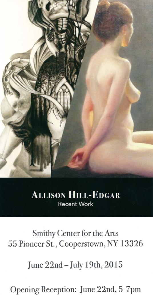 Allison Hill-Edgar: Recent Work