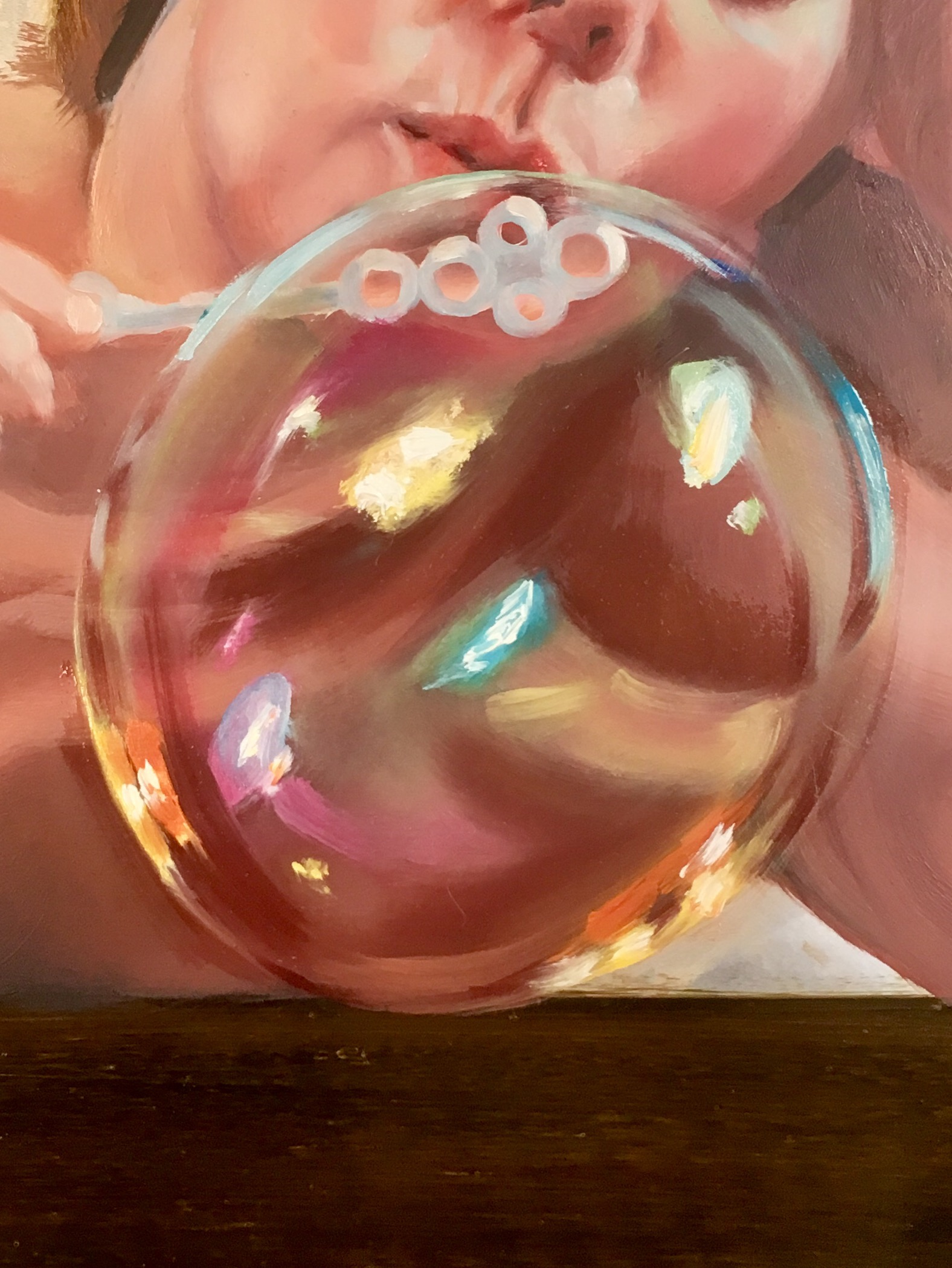Vanitas (detail - bubble)