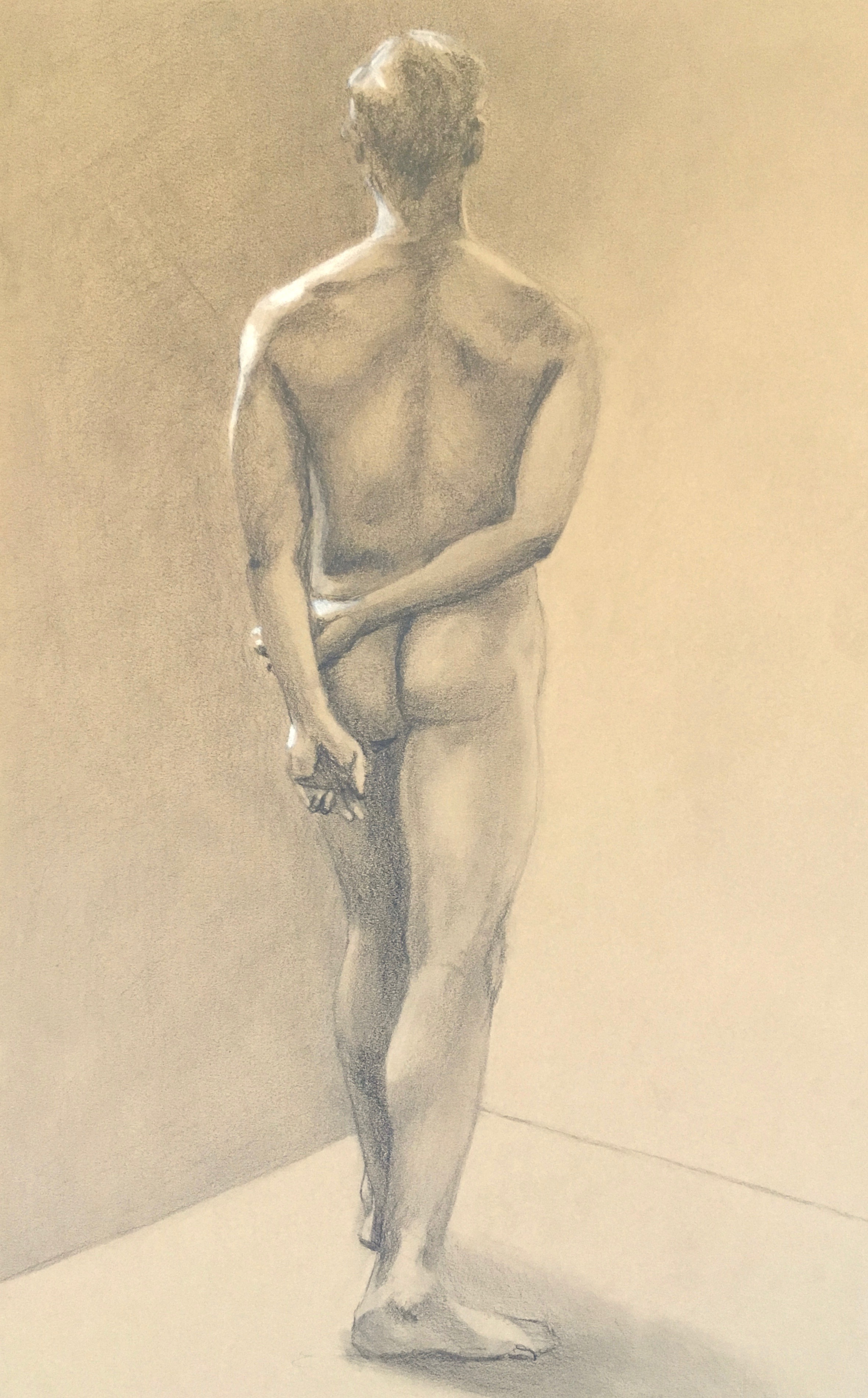Figure Study, From the Back