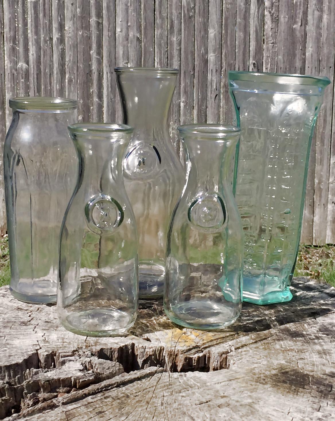 Bottles + Vases
