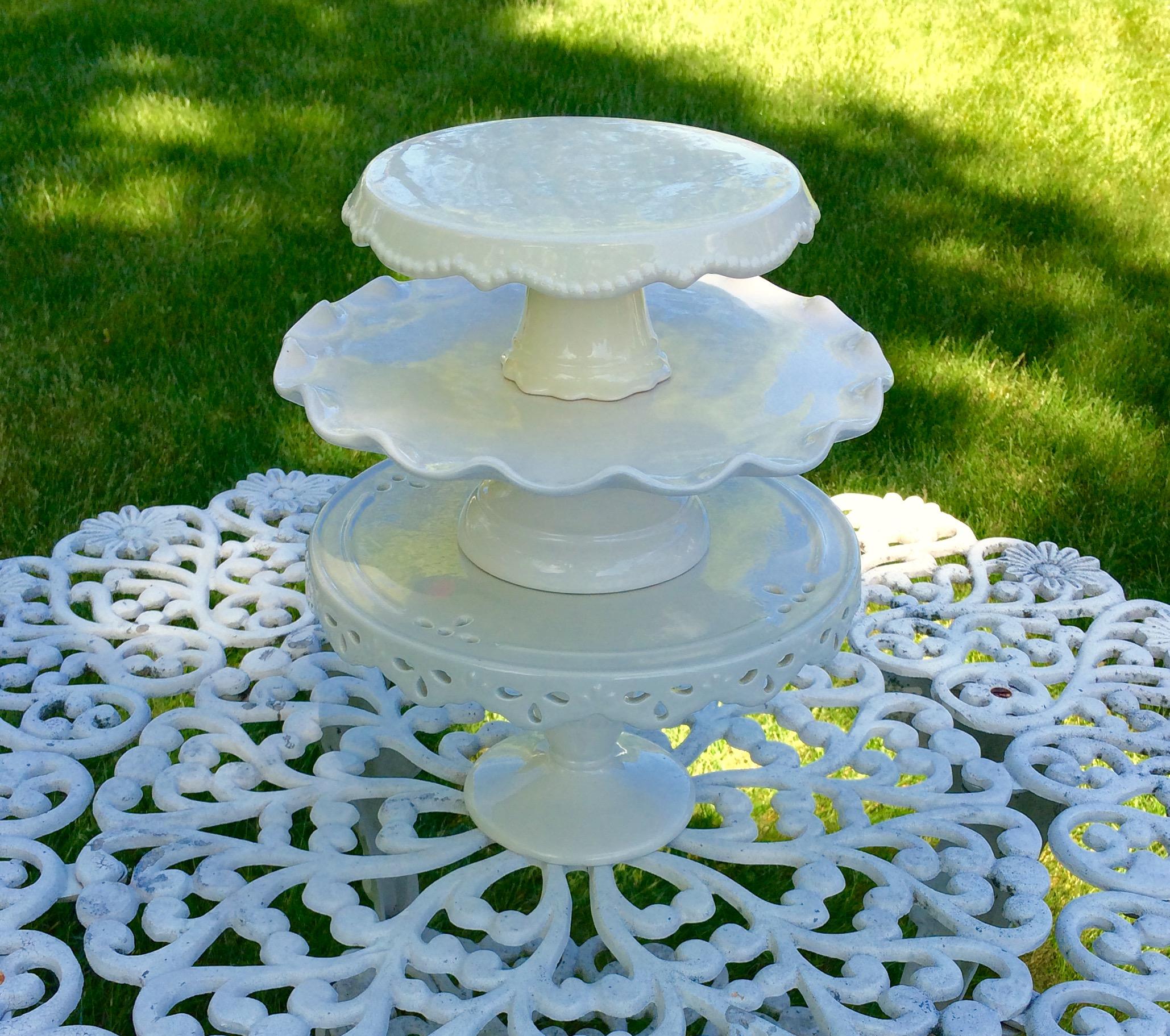 Ceramic Cake Stands