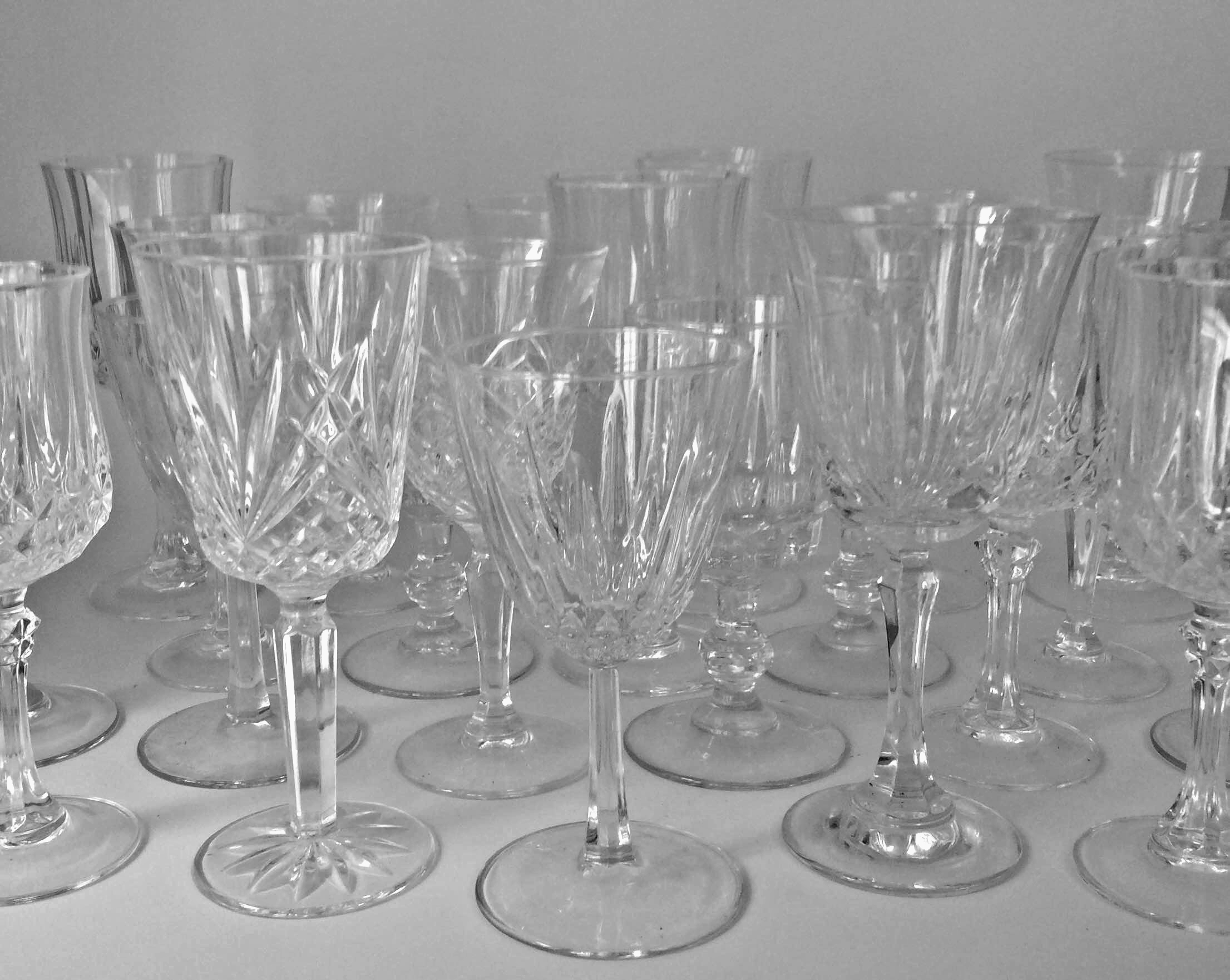 Wine/Water Glasses