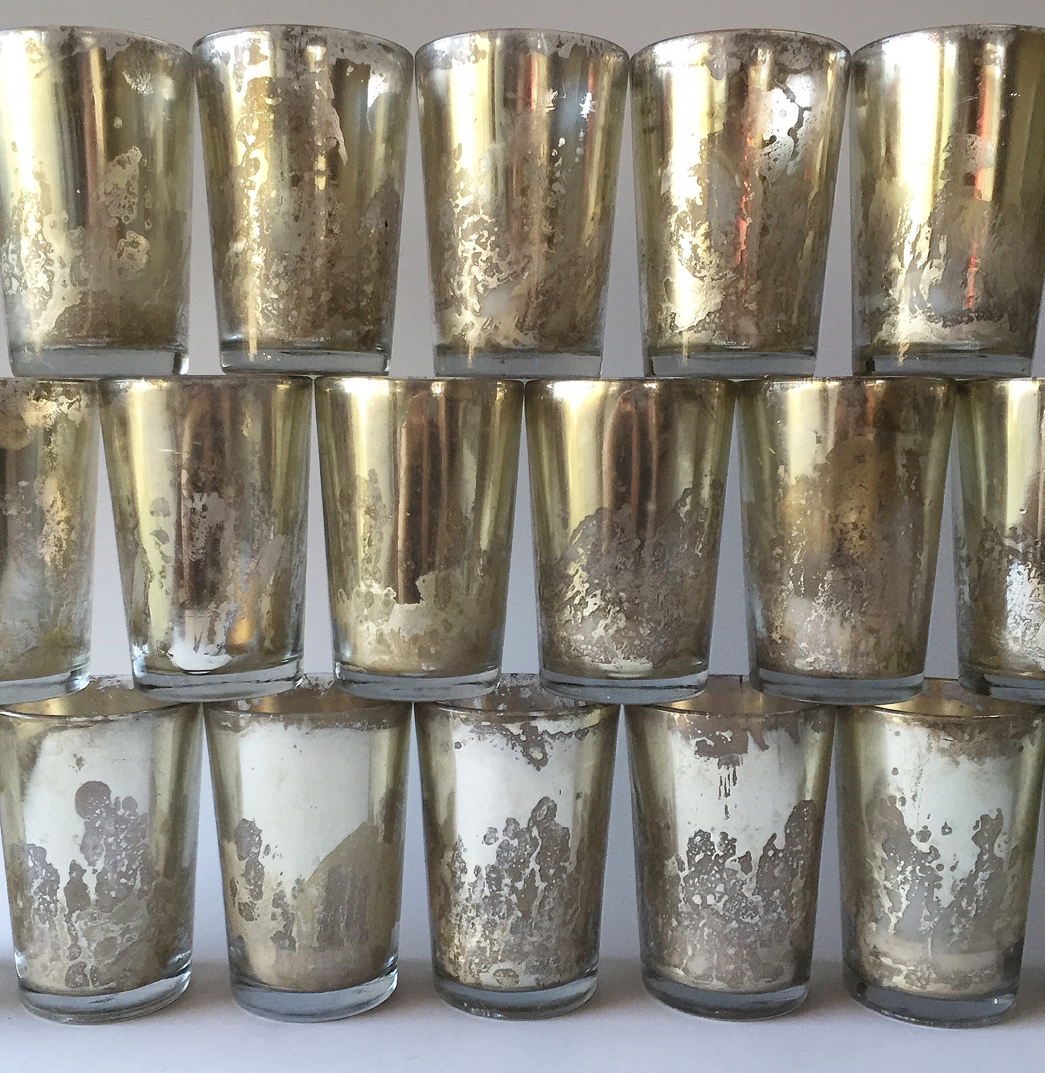 Tall Mercury Votives