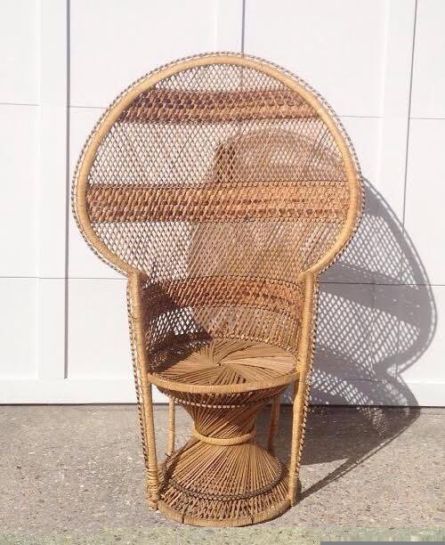 Brigitte Peacock Chair
