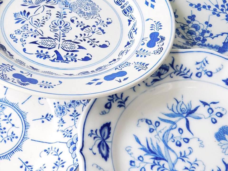 Blue + White Collection
