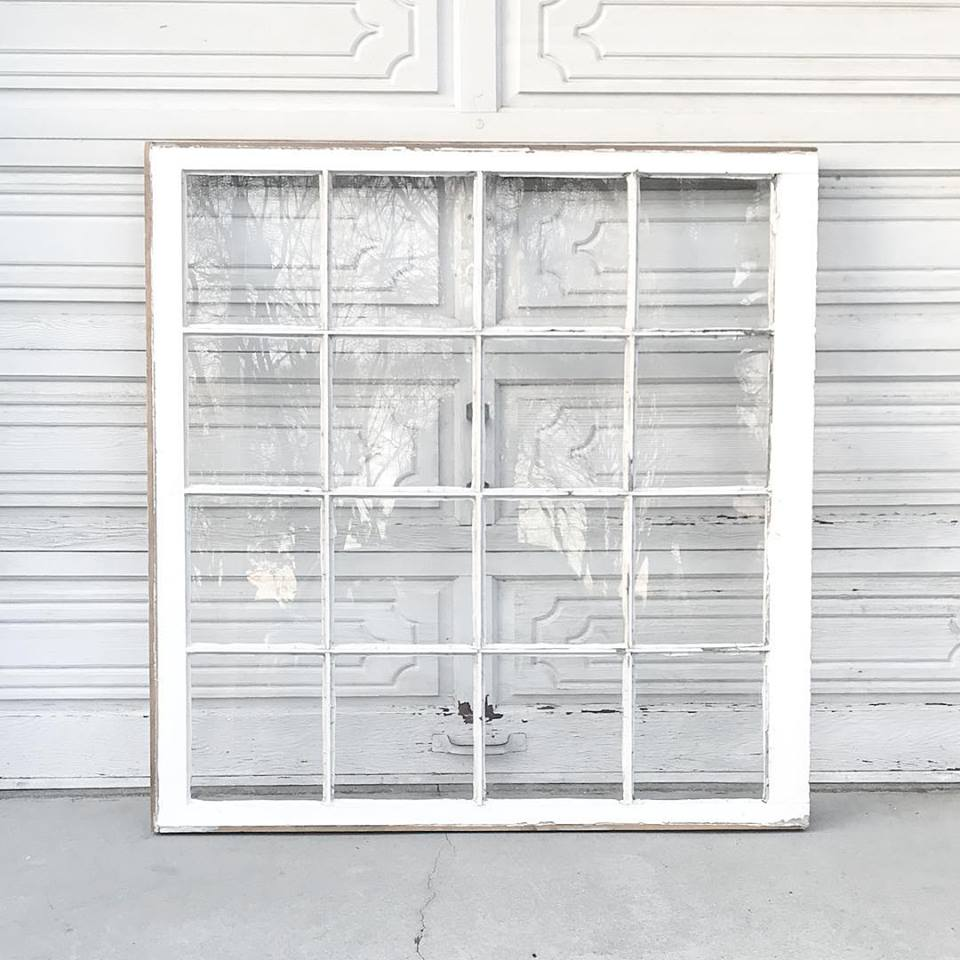Oversized Windowpane